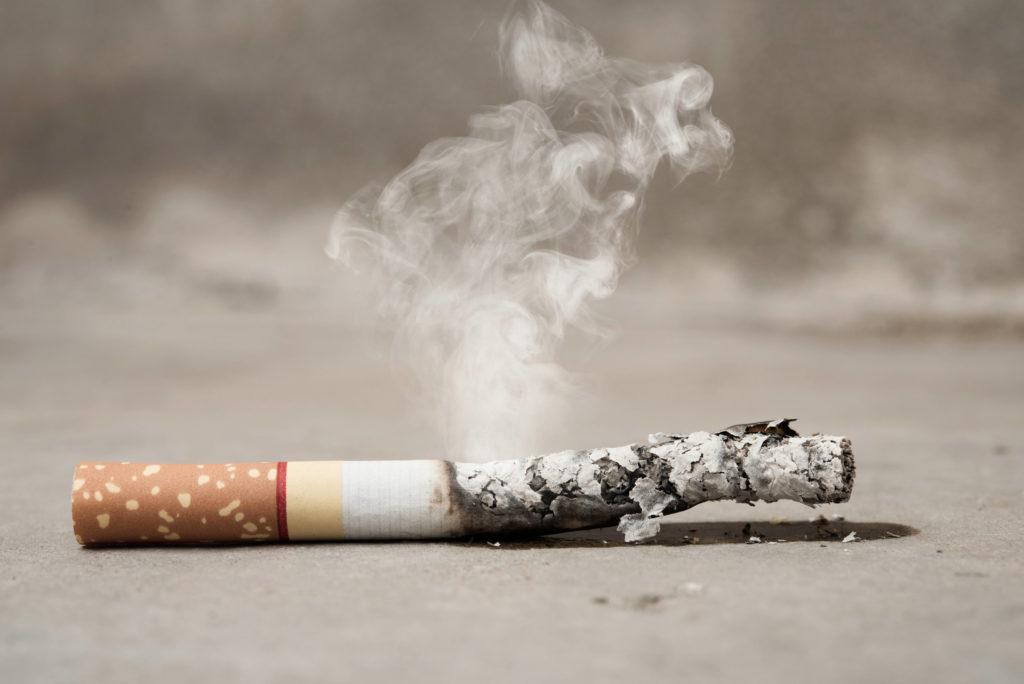 a tupakoin laying on concrete