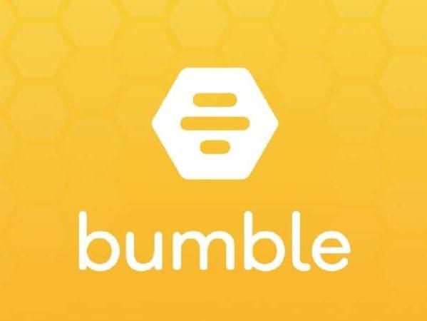 bumble logo, deittisovelluks