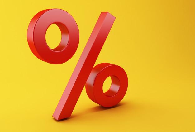 percentage symbol, prosenttil