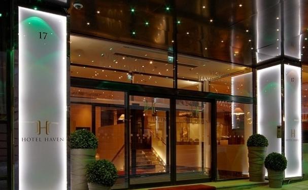 Hotel Haven entrance