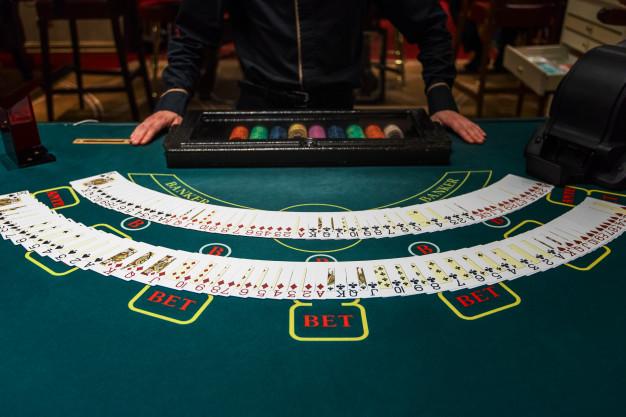 cards spread across the table