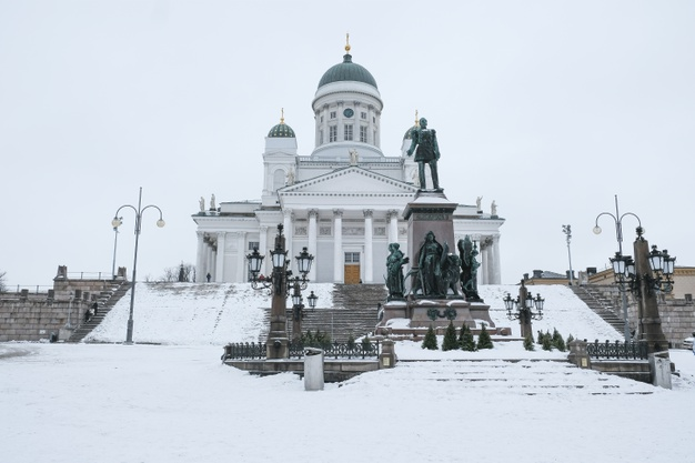 St. Nicholas cathedral in Helsinki, suomi